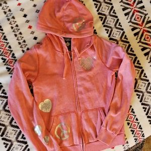VS Pink zip up